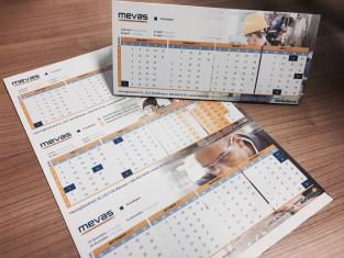 MEVAS bureaukalender